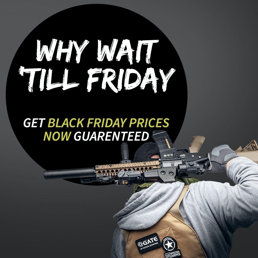 Airsoft Black Friday 2020: Price Guarantee