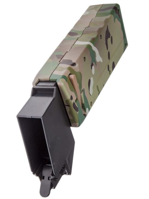 NUPROL Ultra M4 Fastloader 1000rnd Crank Speed Loader