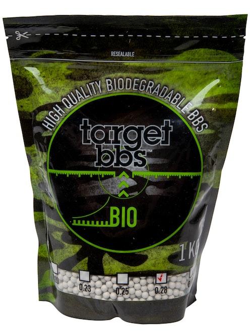 Evolution Airsoft 0.28g Target 6mm Biodegradable BB 1kg Bag