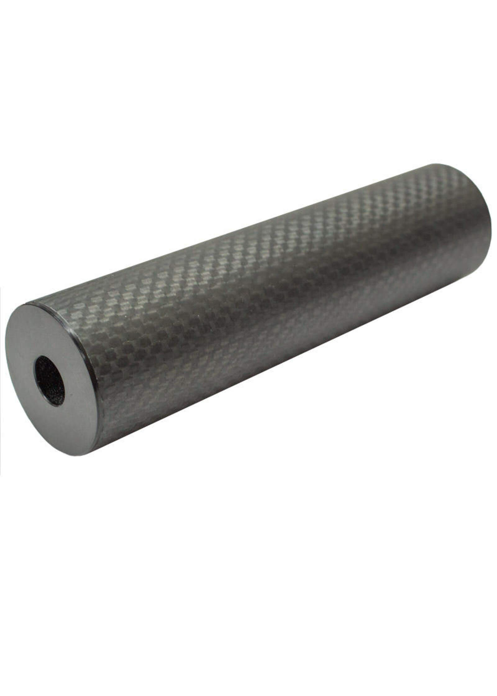 Carbon Fiber Mock Dummy Sound Suppressor Silencer 14mm Thread Airsoft