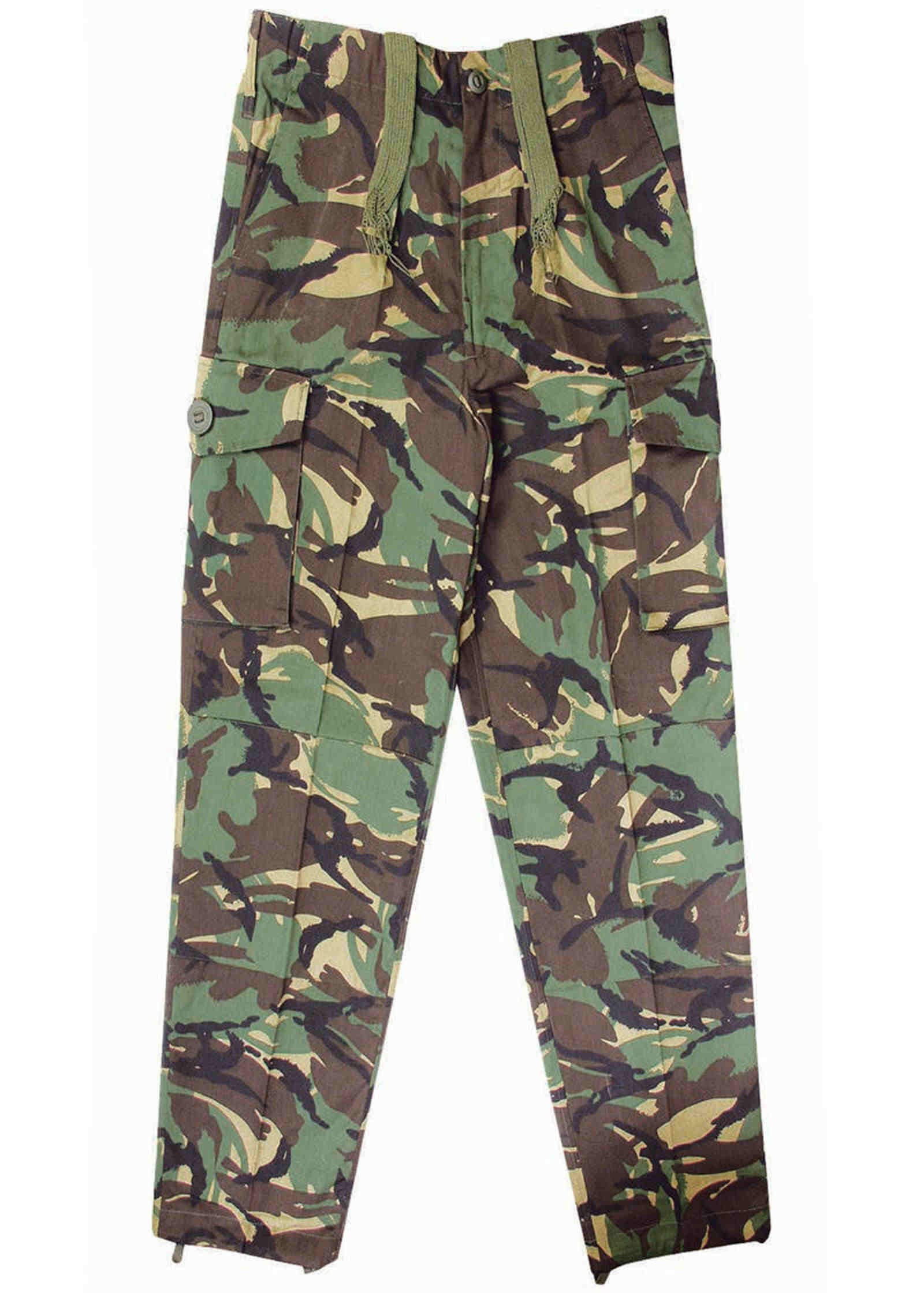 MIL-COM KIDS DPM CAMO T-SHIRT  hard wearing childrens uk british army camouflage