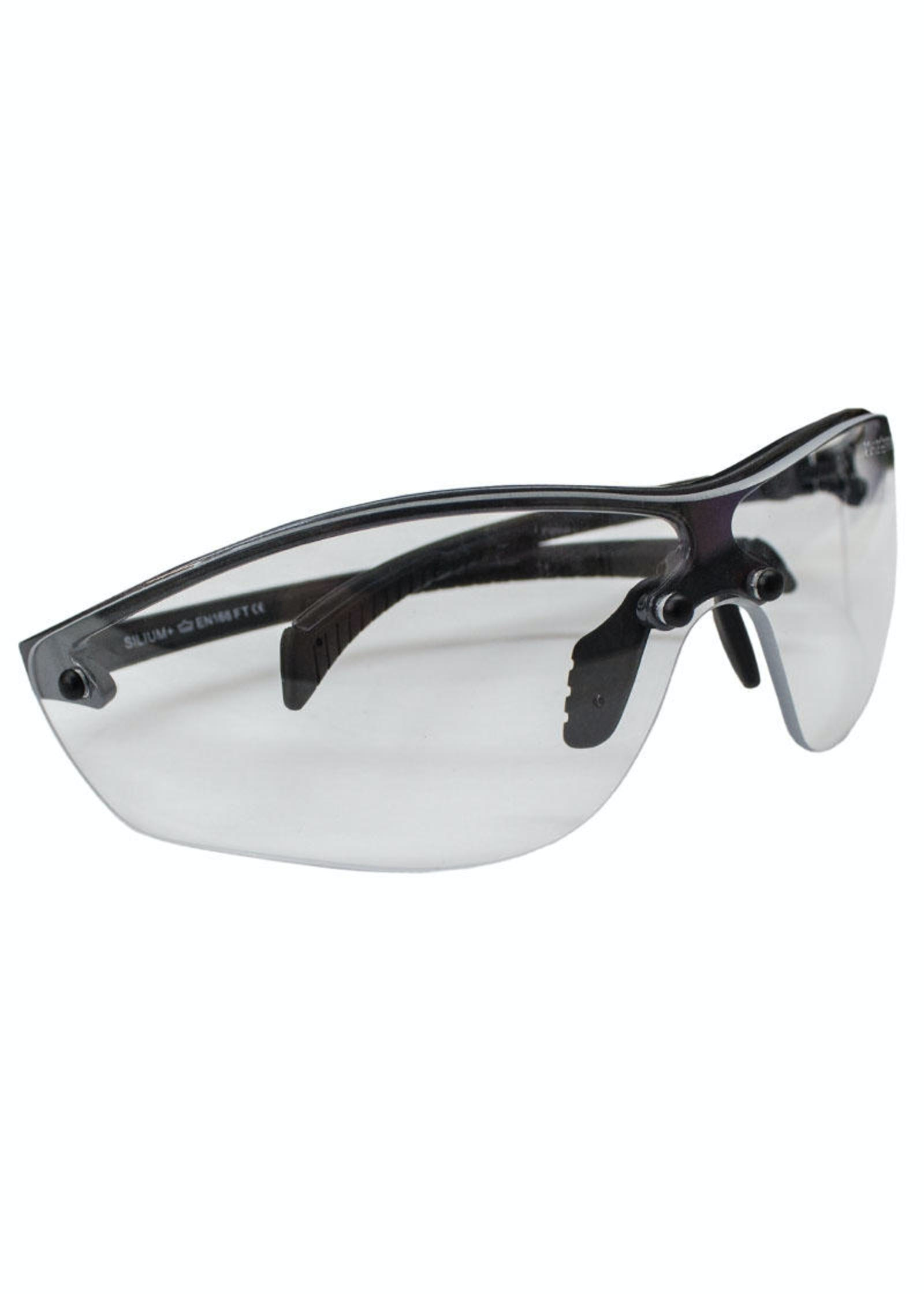 19c17678e0380 BOLLE Safety - Silium+ Platinum Clear Airsoft Safety Glasses