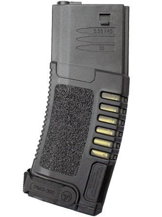 Ares - Amoeba M4 Hi-Cap Magazine 300Rd - Black