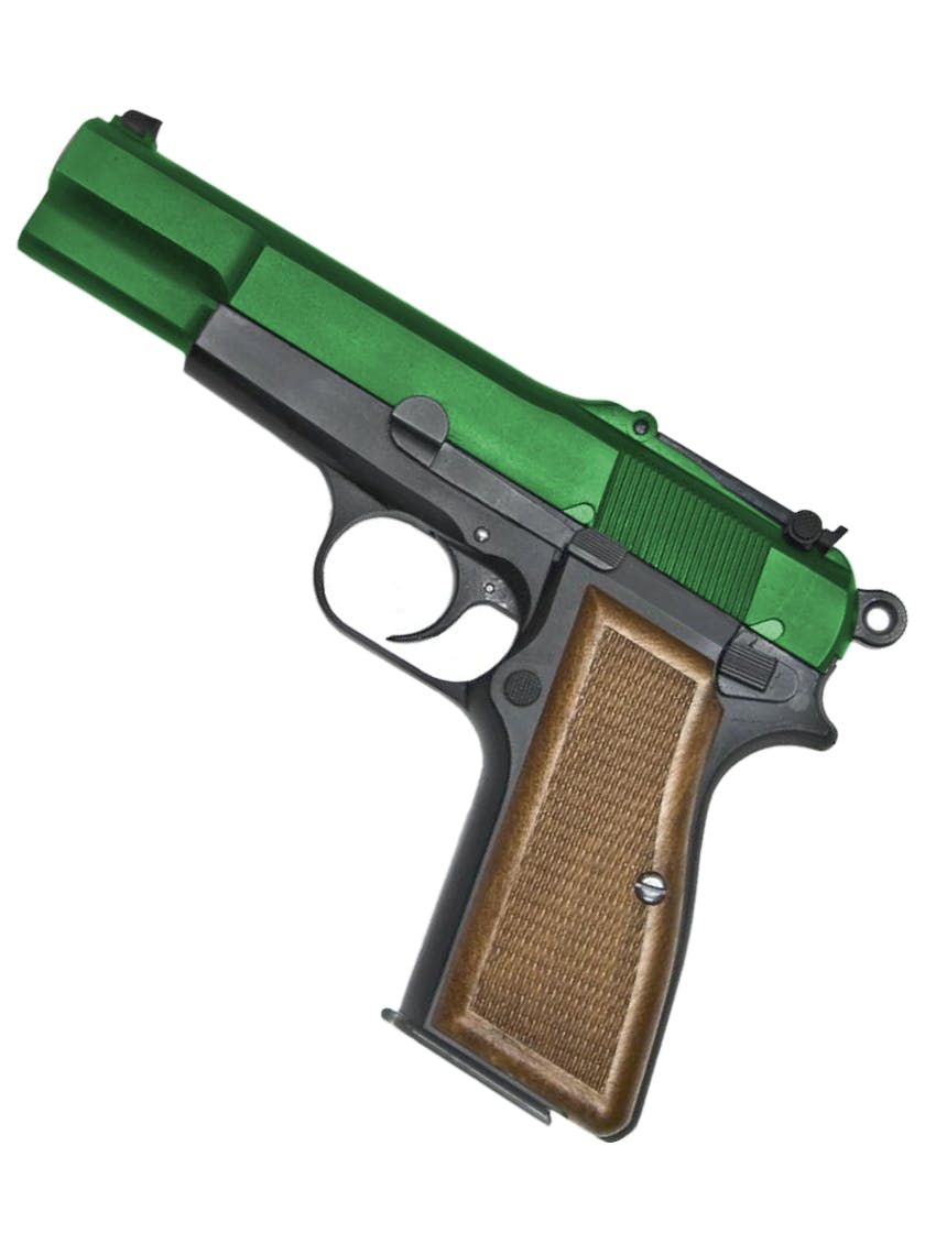 1//6th Scale Browning High Power Cocking Pistol Kit