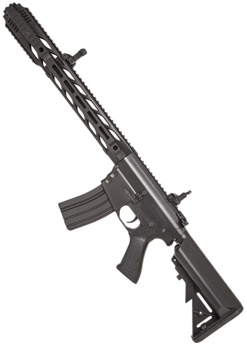 CYMA CM.518 M4 W/ CUSTOM MUZZLE BRAKE, BLACK