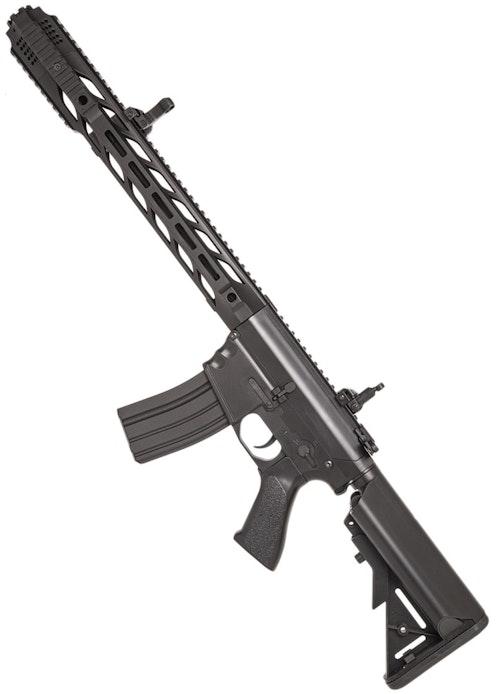 CYMA CM.518 M4 W/ CUSTOM MUZZLE BRAKE, BLACK