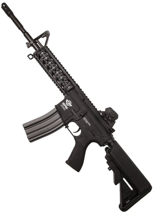 G&G ARMAMENT COMBAT MACHINE CM16 RAIDER L, BLACK
