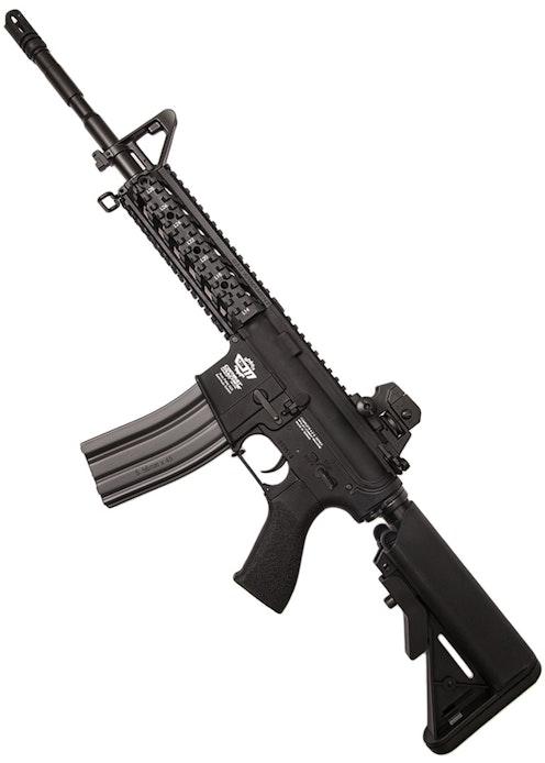 G&G ARMAMENT COMBAT MACHINE CM16 RAIDER L, BLACK