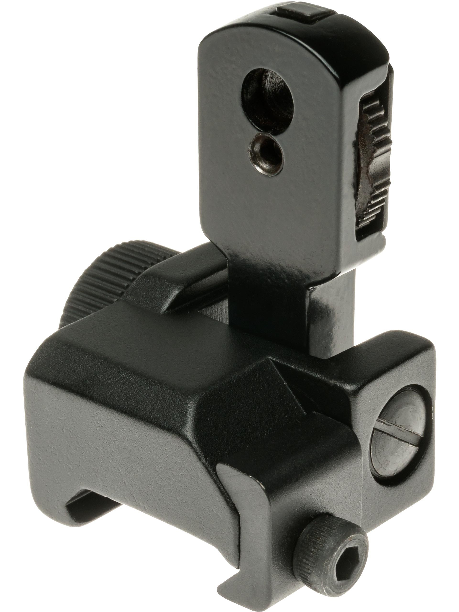 Swiss Arms Tactical Flip-Up Rear Ironsight for 20mm RIS / RAS Rails